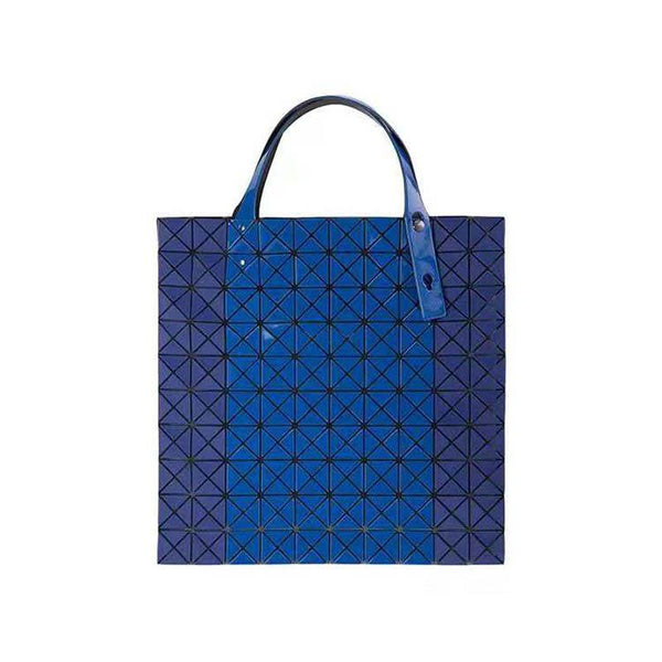 Thread Plaid Barrel-Shaped Tote Bags