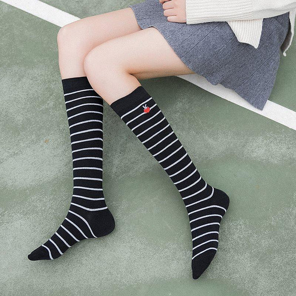 Stripe Deodorization Japanese Socks