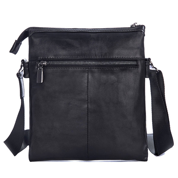 European Leather Plain Rectangle Crossbody Bags
