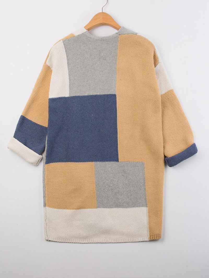 Long Sleeve Mid-Length Sweater