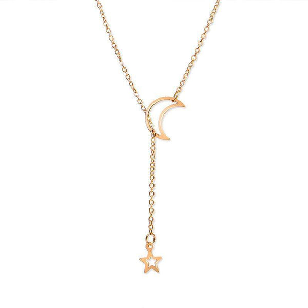 E-Plating Star Pendant Necklace Female Necklaces