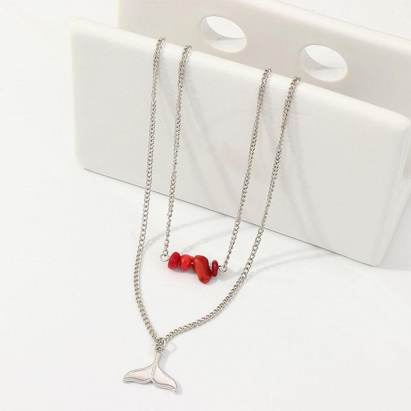 European Pendant Necklace E-Plating Female Necklaces