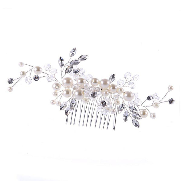 Plant E-Plating Hair Comb Anniversary Hair Accessories