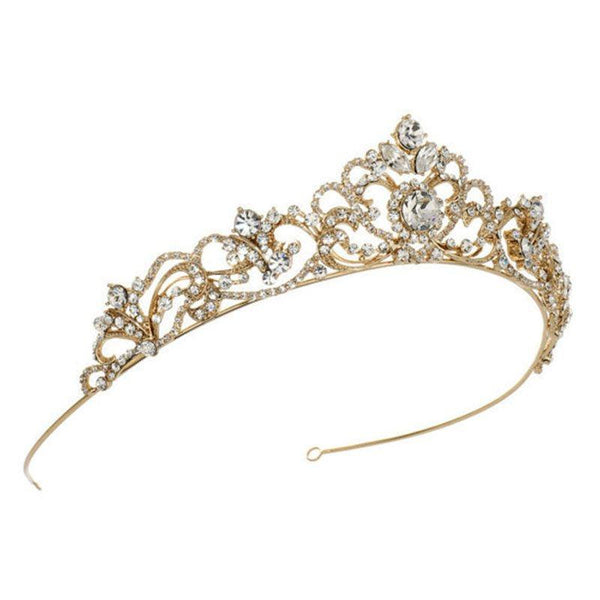 European Tiara Crown Engagement Hair Accessories