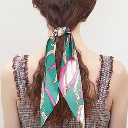 Hair Rope Geometric Korean Birthday Hair Accessories