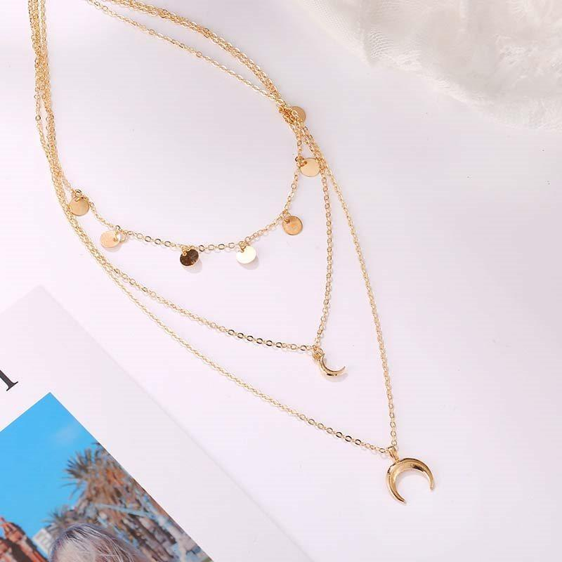 Pendant Necklace European E-Plating Female Necklaces