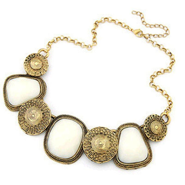 Choker Necklace E-Plating Geometric Female Necklaces
