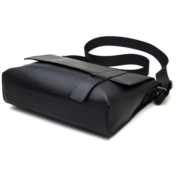 Fashion Leather Plain Rectangle Crossbody Bags