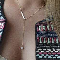 Pendant Necklace Geometric European Female Necklaces