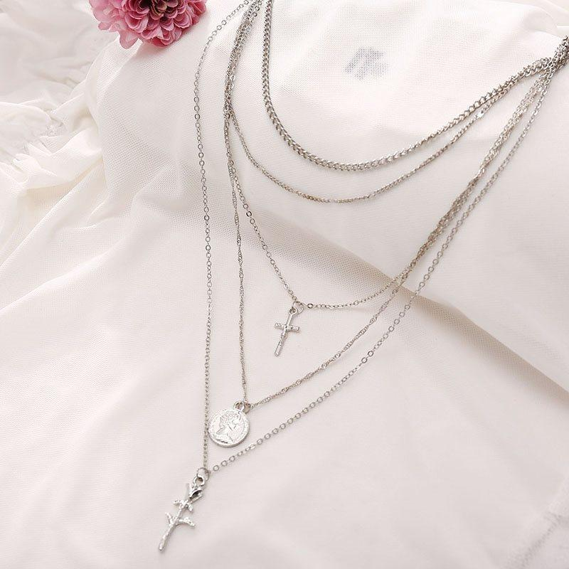 Pendant Necklace E-Plating European Female Necklaces