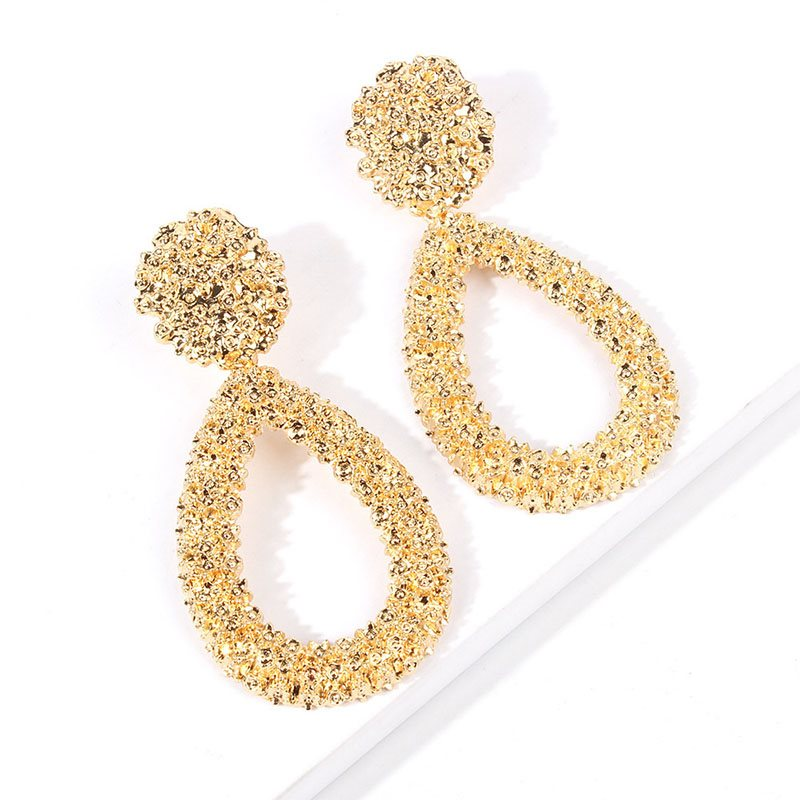 E-Plating Plain Alloy Birthday Earrings