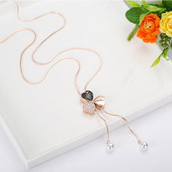 Pendant Necklace European Heart-Shaped Female Necklaces