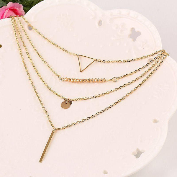 E-Plating European Pendant Necklace Female Necklaces
