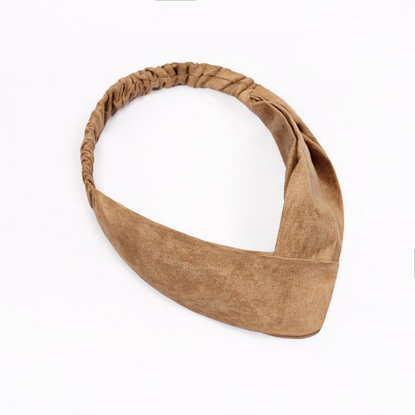 Korean Plain Hairband Sports Hair Accessories
