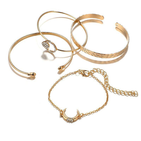 Diamante European Plain Female Bracelets