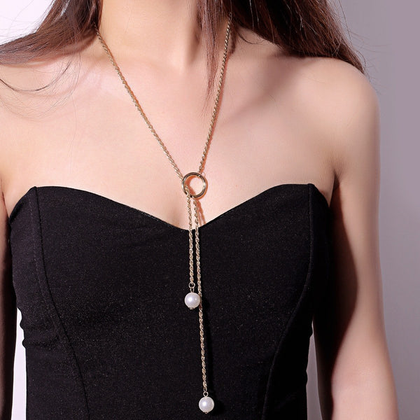 E-Plating Geometric Choker Necklace Female Necklaces