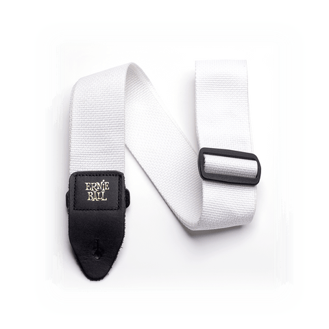 Ernie Ball White Polypro Guitar Strap