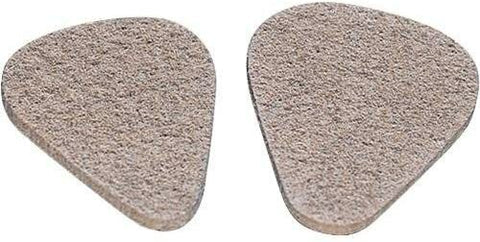 Jim Dunlop 351 Shape Felt Ukulele Pick (3-Pack) 3.0 mm