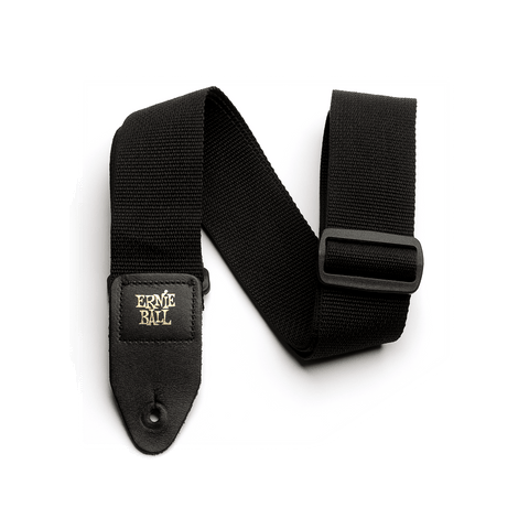 Ernie Ball Black Polypro Guitar Straps