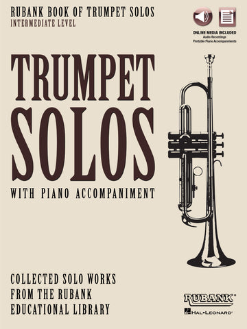 Rubank Book of Trumpet Solos – INTERMEDIATE LEVEL Book with Online Audio (stream or download)