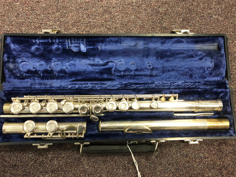 Used Gemeinhardt M2 Flute Certified Used, 30 Day Warranty