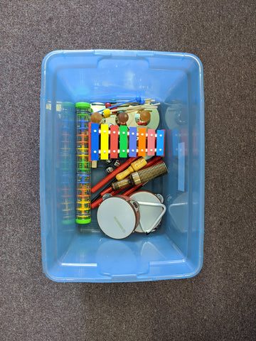 Lot of Children's Classroom  Instruments - Used