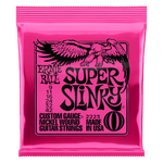 Ernie Ball Nickel Wound Electric Guitar Strings Super Slinky