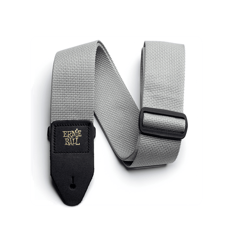 Ernie Ball Gray Polypro Guitar Strap
