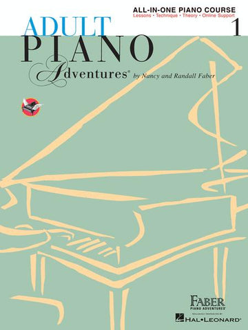 Adult Piano Adventures All-In-One Lesson Book Level 1