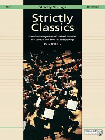 Strictly Classics Book  One, Violin