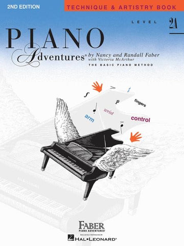 Piano Adventures Tech 2A