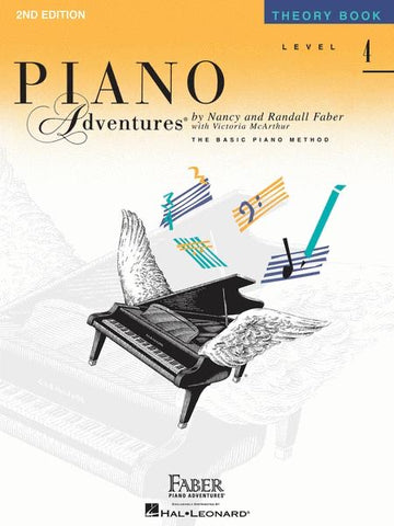Piano Adventures Theory 4