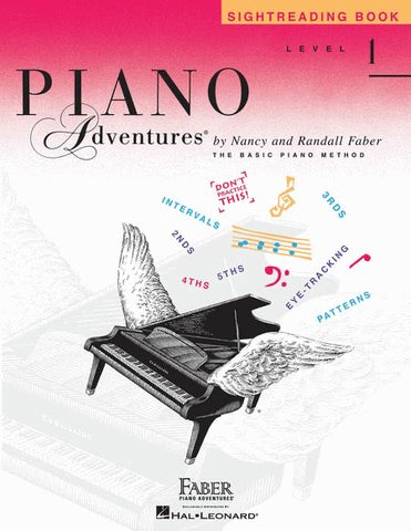 Piano Adventures Sight Reading 1
