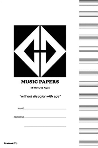 Dumont Music Papers 75 Page