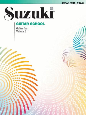 Suzuki Guitar School Vol 2