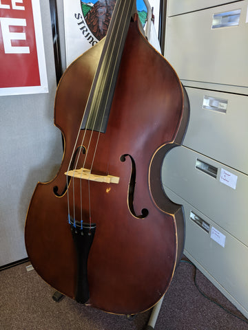 Used Unlabeled 4/4 Upright Bass w/ bag