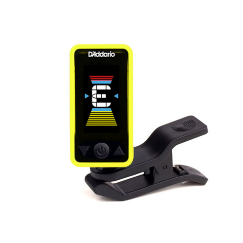 D'Addario Eclipse Headstock Tuner, Yellow