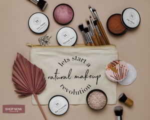 LET'S START A NATURAL MAKEHandcrafted all natural makeup + skincare for all skin types that's good enough to eat!   Wondery Skin Food is all natural vegan friendly make up and skincare. Handcrafted in small batches with ethically and organi
