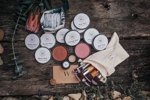 "Every. Single. Item.  This is the ultimate collection and has the saying ""break up with your makeup' all over it.  Its the only range of all natural, vegan, cruelty free make up and skin care you'll need in your make up bag or drawer!"