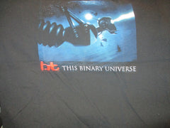 BT This Binary Universe Black T Shirt Large Electronic DJ Techno
