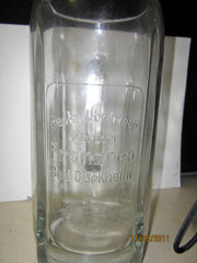 Franzreb Bad Durkheim Vintage 1 Liter German Glass Beer Stein