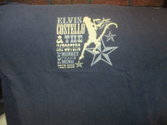 2005 ELVIS COSTELLO Monkey Speaks His Mind Tour T Shirt XL