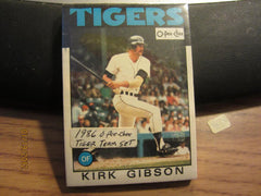 Detroit Tigers 1986 O Pee Chee Sealed Card Set Canada