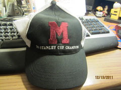 Montreal Maroons 1935 Stanley Cup Champions Mesh Snapback Hat Bud Canada