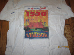 CBC Radio One Windsor T Shirt XL Canada