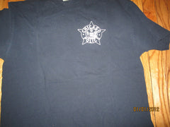 Chocago Police White Logo Navy T Shirt XL