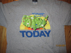 TODAY SHOW Al Roker Here's The Weather In Your Neck of The Woods T Shirt Large NBC