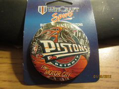 "Detroit Pistons ""Horse"" Logo 2 1/4 Inch Pin"