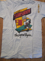 Detroit Vipers #30 Sergei Samasonov T Shirt Medium IHL Defunct