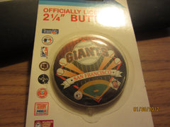 San Francisco Giants 2 1/4 Inch Pin Mint On Card